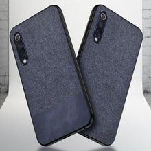 Luxury Cotton Cloth Cover,Case For Xiaomi Mi 9 SE A2 Lite A1 5X 6X Mi6