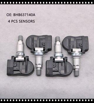 4 PCS TPMS FOR Mazda 2 3 5 6 CX-5 CX-6 CX-9 MX-5 Artz 433MHz BHB637140A TPMS SENSOR TIRE AIR PRESSURE SENSOR BHB637140 GS1D37140 цена 2017