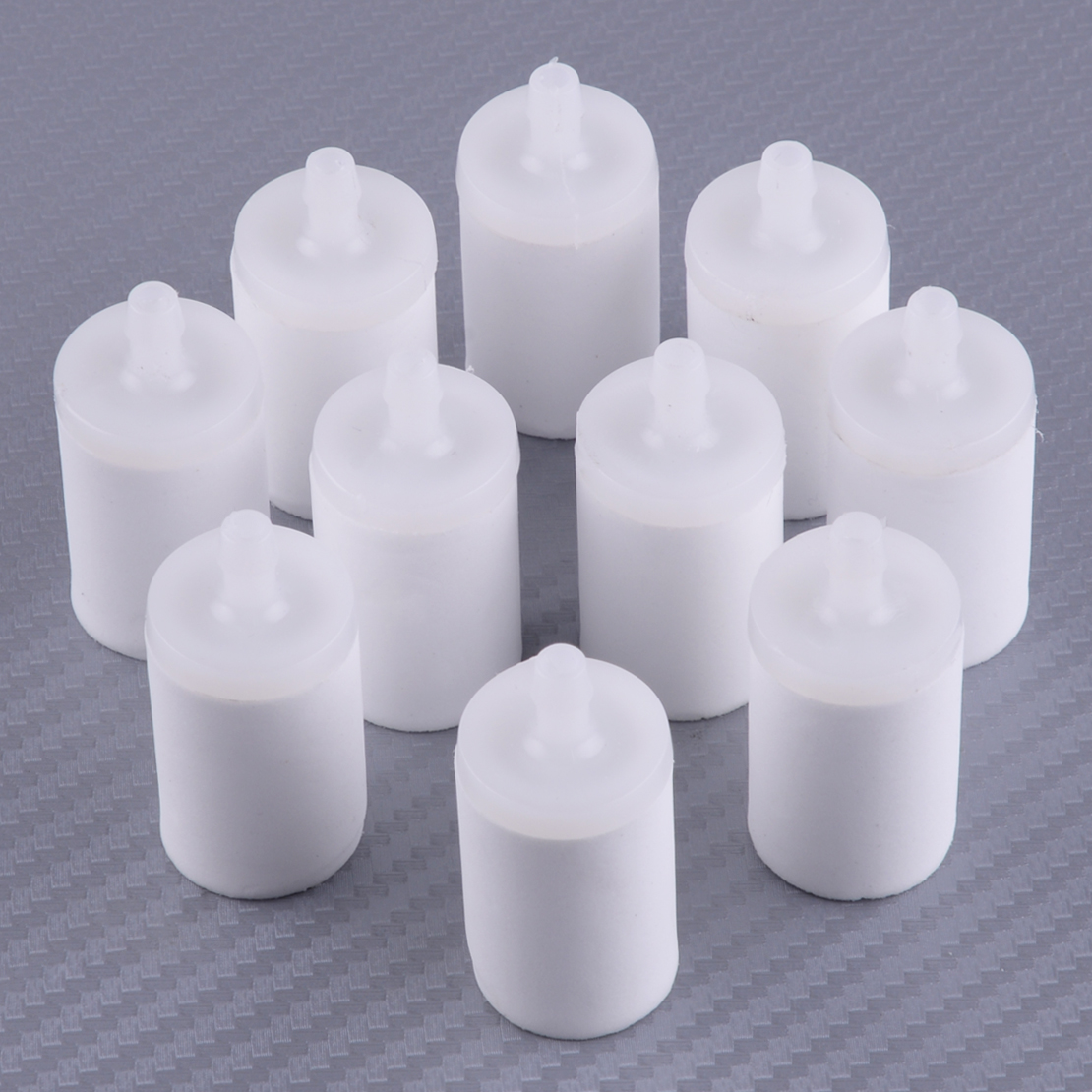LETAOSK 10pcs Gas Fuel Filter Pick Up Body 503 44 32-01 Fit For Husqvarna Chainsaw 50 51 55 61 268 272 XP 345 350 351 353 Parts