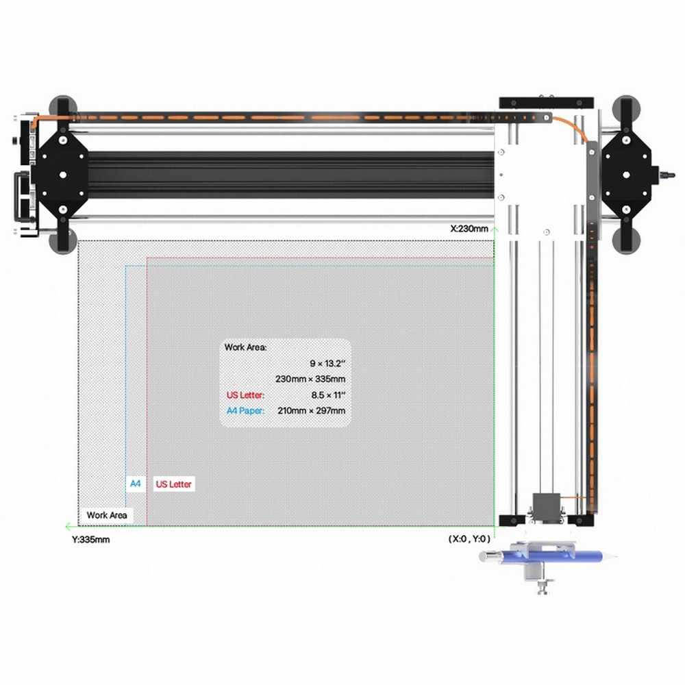 Gkdrew X3 Pro 2 en 1 XY traceur dessin 5500mw CNC Machine de gravure Kit bois routeur 2500mw 500mw lettrage Robot Laser écriture