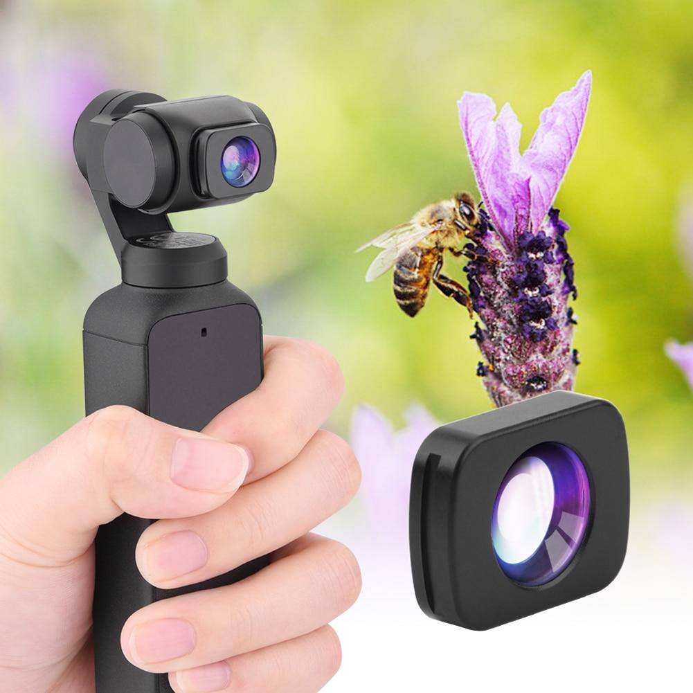 Магнитная установка Макро микро объектив для DJI Pocket 2 Gimbal Camera аксессуар Super Macro Lens HD Camera Lentes