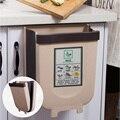 Baffect Складной Подвесной кухонный мусорный бак пластиковый мусорный бак кухонный компост Caddy мусорное ведро для домашнего автомобиля