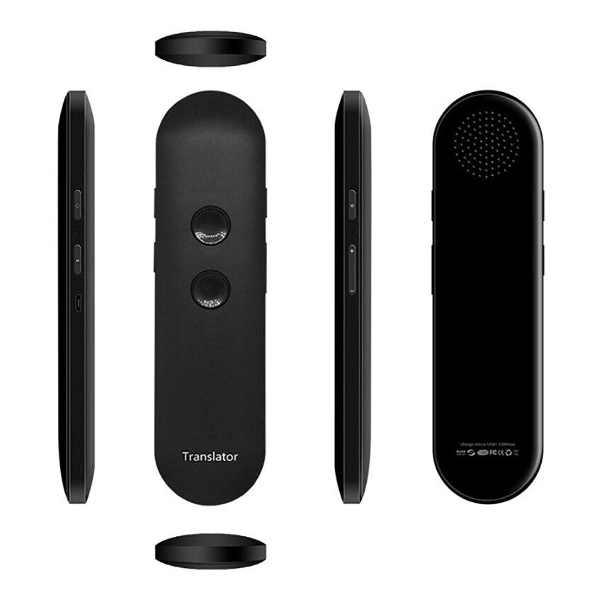 2019 nouvelle mise à niveau muama enence smart portable traducteur vocal instantané en temps réel traducteur de langue Bluetooth traducteur vocal - 2