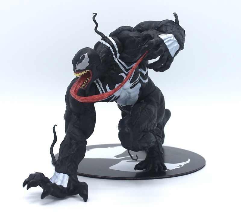 Vingadores filme Incrível 16cm Preto Venom Figura ARTFX PVC Figuras de Ação Toy Boneca Figura Veneno Veneno Superhero Modelo Colecionável