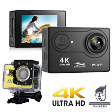 Cámara de Acción H9 H9R Ultra HD 4K 25fps 1080P 60fps WiFi 2,0 LCD 170 Wide Angel Go impermeable Pro cámara de vídeo deportes extremos(China)