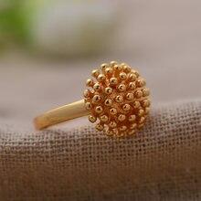Свадебное кольцо для женщин и девочек маленькое Золотое в арабском