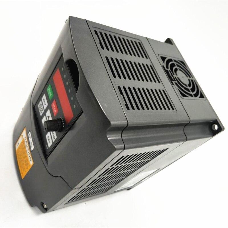 Darmowa dostawa! HY falownik 1.5KW 2.2KW 4KW przetwornica częstotliwości 1p-Input-3p-Out silnik wrzeciona CNC kontrola prędkości VFD konwerter