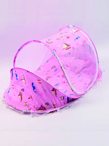 Pillow Bed-Mattress Mosquito-Nets Folding Children Crib-Netting Baby for 0-3-Years-Old