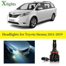 Car Led Headlight Canbus Bulb For Toyota Sienna 2011 2012 2013 2014 2015 2016 2017 2018