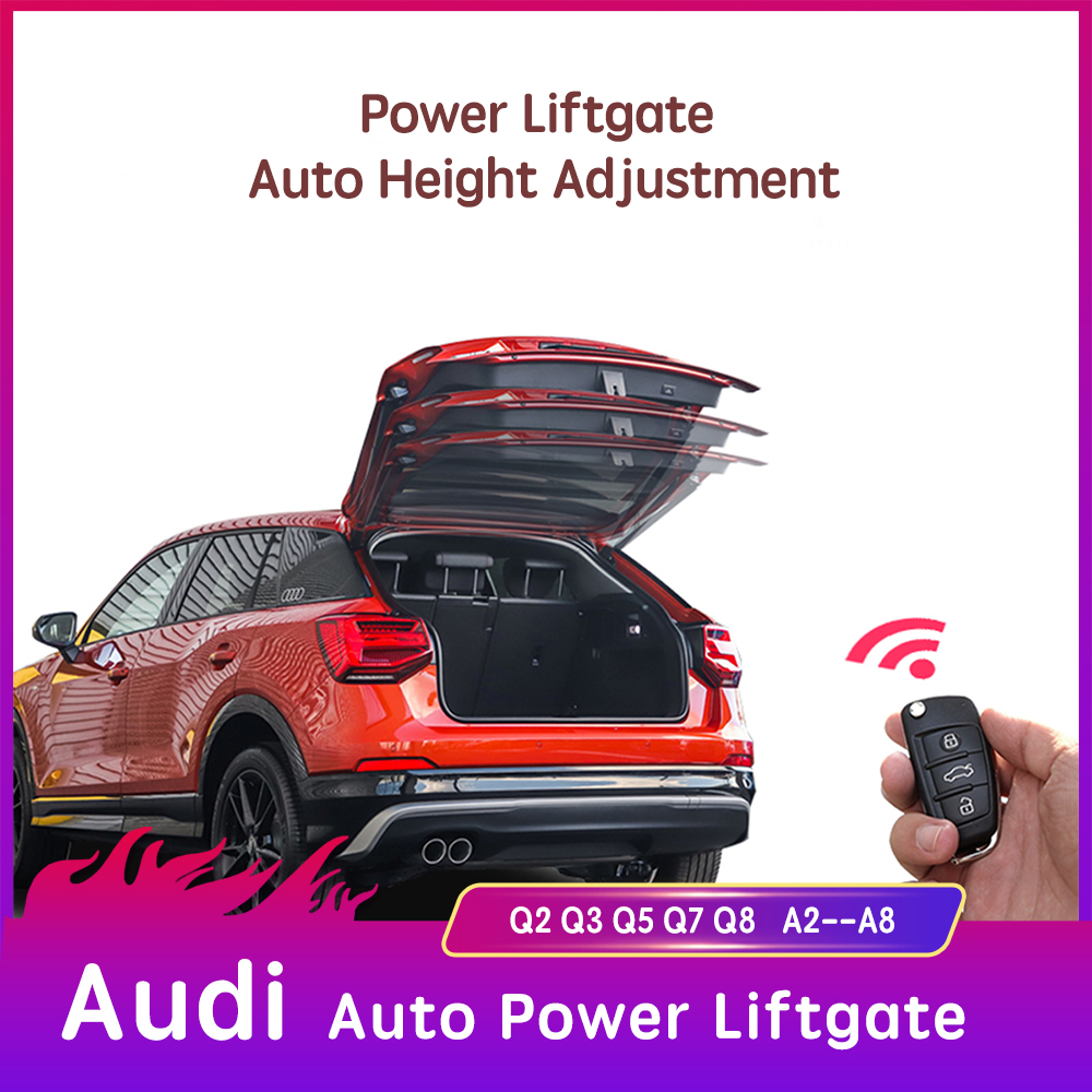 For Audi A4 B8 B6 Auto Power Liftgate Tail Gate Supports Shocks For Audi A3 Q5 Tailgate Boot Gas Struts Spring Car Accessories Trunk Lids Parts Aliexpress