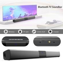 20W Wireless Bluetooth Soundbar Stereo Speakers Home Theater Audio TV Sound Bar Surround Sound Column Dual Subwoofer BS28D