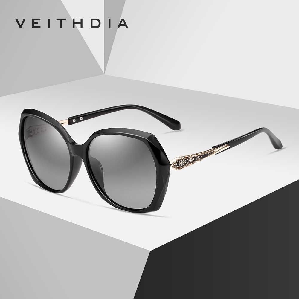 VEITHDIA แว่นตากันแดดผู้หญิงแว่นตา Polarized เลนส์แว่นตากันแดดอุปกรณ์เสริมสำหรับแว่นตาผู้หญิง 3159