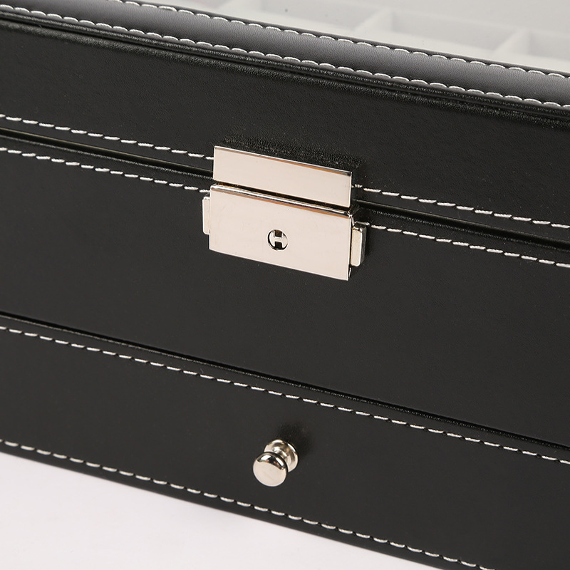 12-Bit Double Layer Watch Box Display Box Multi-functional Jewlery Box Display Box Customizable