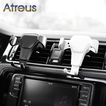 Car Styling Gravity Mobile Phone GPS Holder For Volkswagen Polo Sedan BMW E46 E39 Mini Cooper r56 Audi A4 B6 B8 A5 Ford Fiesta image