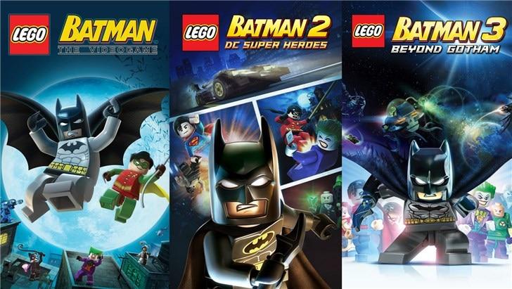 限时免费 Epic商城6款《蝙蝠侠》主题游戏