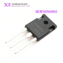 IKW50N60H3 K50H603 IGBT 600V 100A 333W TO247 3 la mejor calidad, 50 unidades/lote