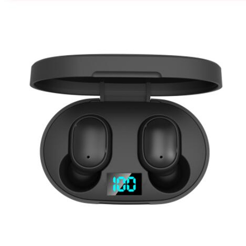 Original E6S Bluetooth Headsets For Redmi Airdots Wireless Earbuds 5.0 TWS <font><b>Earphone</b></font> <font><b>Noise</b></font> <font><b>Cancelling</b></font> Mic for iPhone Android image