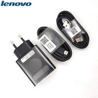 Lenovo-cargador USB Original de carga rápida, adaptador de enchufe de la UE, Cable de datos de 100CM para Lenovo Vibe P2, P1, Z5S, Z6 pro, K5, K3, Z5, Z3, Z2