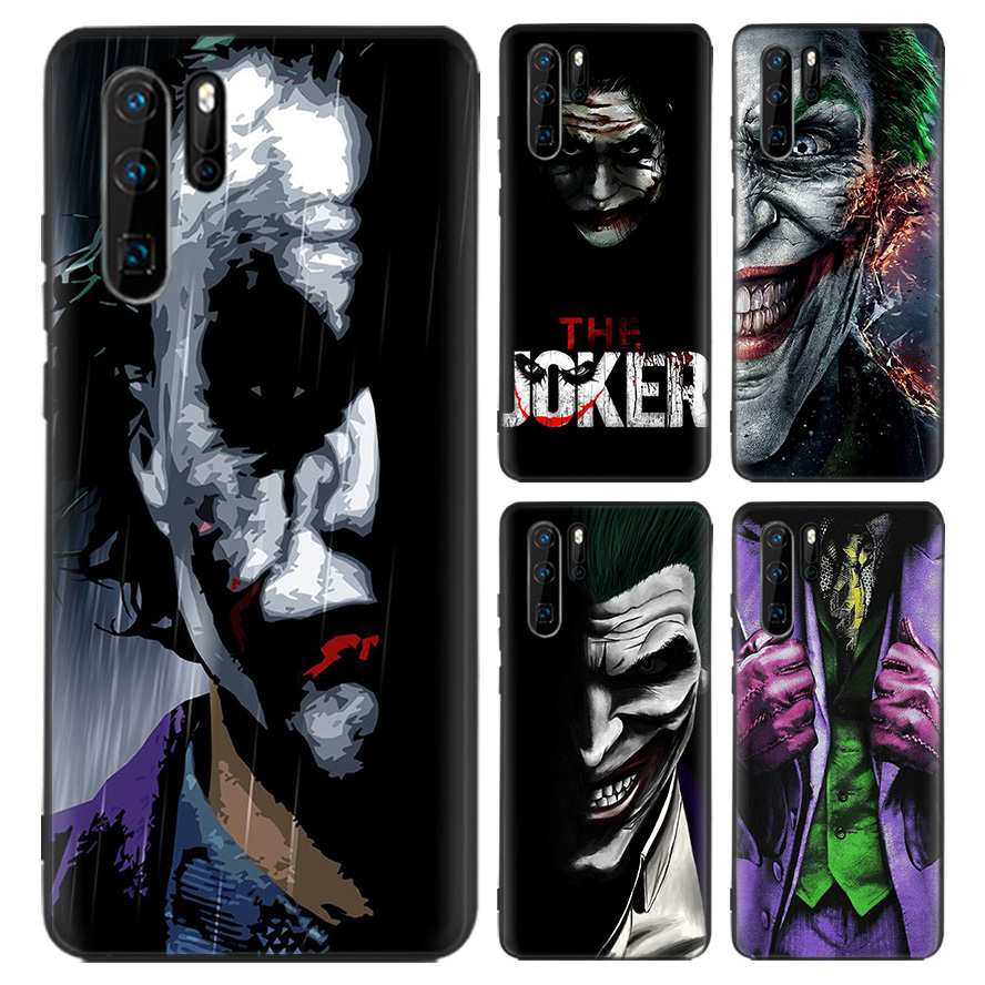 Batman Joker Dark Black Knight Black Coque Case For Huawei Mate 30 ...