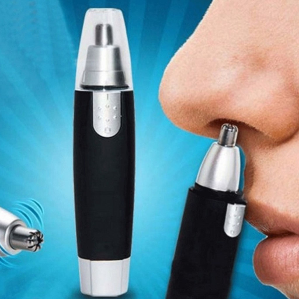 Electric Nasal Nose Ear Hair Trimmer Tool Nose Clipper Ear Face Clean Trimmer Razor Removal Shaving Nose Trimmer Face Care Tool