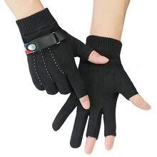 2021 yeni açık spor aksesuarları kış sıcak tutmak Anti-slip 3 yarım parmak sazan balık balıkçılık eldiven
