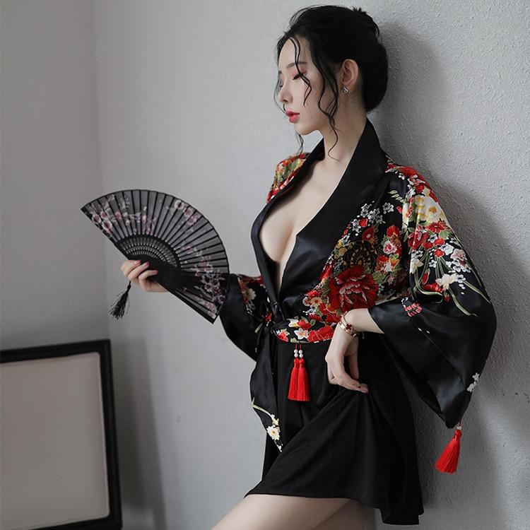 Yukata Haori женские японские кимоно, комплект из 2 вещей: рубашка комплект с юбкой и футболкой комплект одежды кардиган костюм самурая, одежда дл...