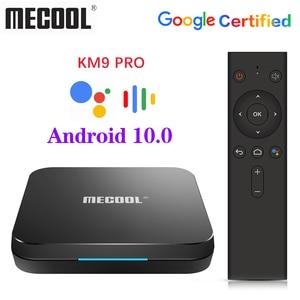 Image 4 - Google Chứng Nhận MECOOL TV Box Android 9.0 KM9 PRO Androidtv 9.0 4 GB RAM 32 GB Amlogic S905X2 4 K bằng giọng nói 2.4G 5G Wifi BT4.0 KM9 ATV