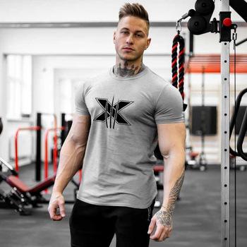 T-shirt do biegania mężczyźni Marvel X męskie koszule koszula siłownia sport rozrywka szkolenia koszula z nadrukiem wzór koszule męskie odzież sportowa fitness XXl tanie i dobre opinie Poliester Pasuje prawda na wymiar weź swój normalny rozmiar Wiosna Lato AUTUMN running gym fitness prints