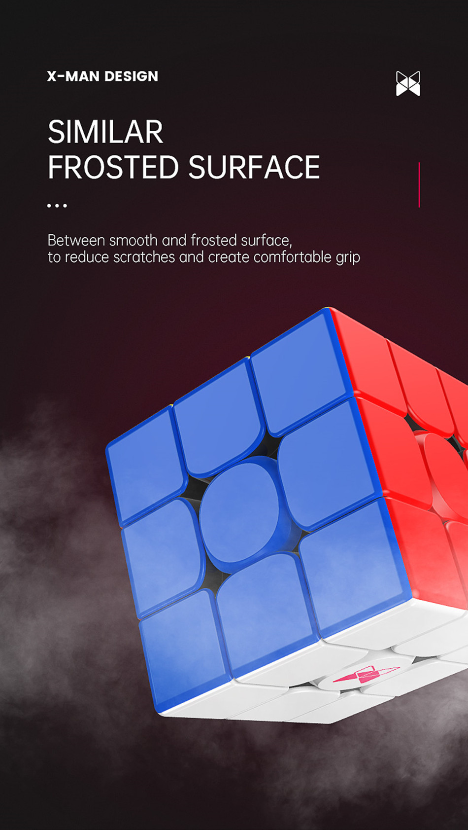 de velocidade magnética cubo mágico profissional quebra-cabeça