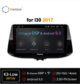 Ownice 4Core 360 Panorama Android 9.0 forHyundai i30 2017 2018 2019 Car DVD Player GPS Radio DSP 4G LTE SPDIF head Unit image