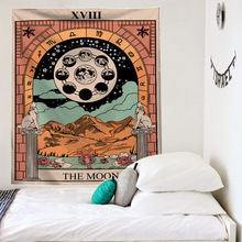 цена на Nordic Style Tapestry Wall Hanging Tapestry Beddingoutlet Throw Funny Blanket Print Art Decor Tapestry Yoga Pad Bedroom Decor