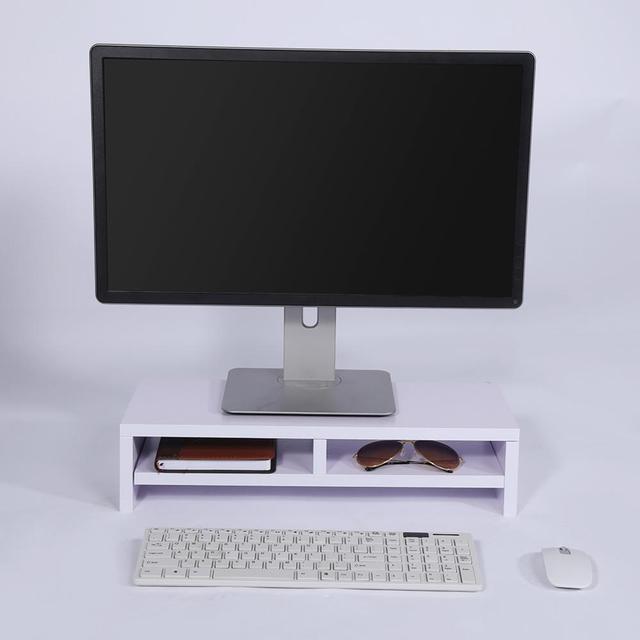 2-Tier Desktop Monitor Stand Shelf  1