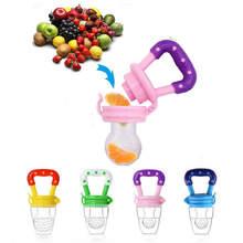 Biberon en Silicone pour enfants, fruits frais, aliments pour enfants, alimentation sûre, biberon de lait pour bébé, tétine, grignoteuse, nouveau