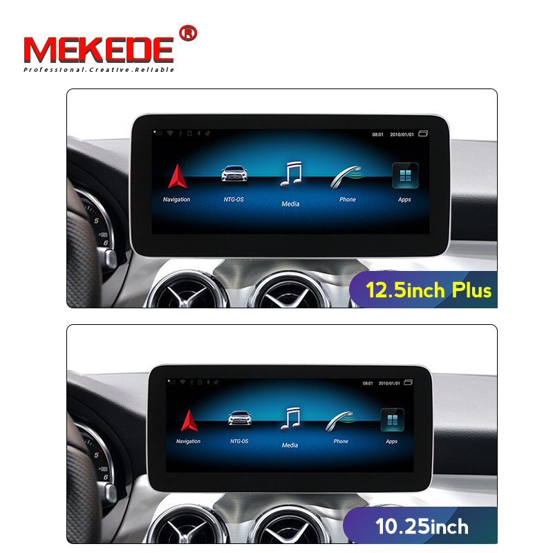 4G Plus Android 9.0 Car Multimedia System For Mercedes Benz A Class W176/CLA Class W117 / GLA X156 12.5