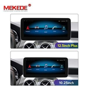 Sistema multimedia de coche android 9,0 4G plus para Mercedes benz Clase A W176/clase CLA W117 / GLA X156 12,5