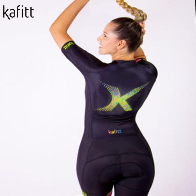 Kafitt Anzug Frauen Bicicleta Skinsuit Triathlon Schnell Trocknende Enge Geral Ropa Mujer Nach Fahrrad 5