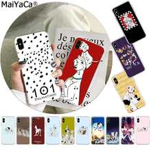 MaiYaCa 101 Dalmatians dog Minimal Movie TPU Transparent Phone Case Cover for iphone 11 pro 8 7 66S Plus X XS MAX 55S SE XR(China)
