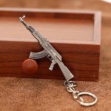 Hot Sale Game M16 Novelty Items AK47 Men Guns Keychain pendant Trinket M4A1 Sniper Key Chain