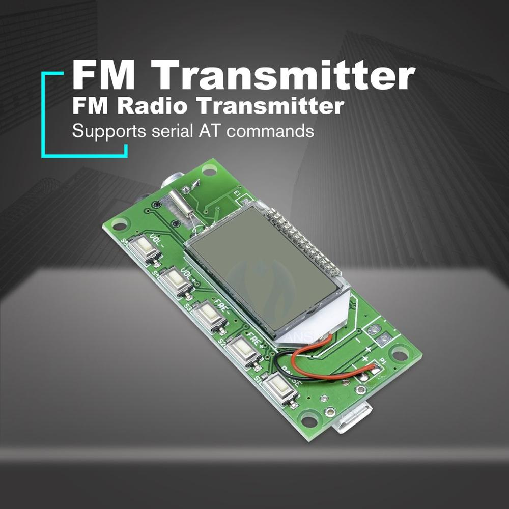 Stereo FM Transmitter Module Phase-locked Loop Digital Wireless radio Module