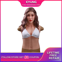 2020 New Type Realistic Silicone Angela Mask Female Silicone Mask with Breast Forms Boobs Halloween Party Masquerade Drag Queen