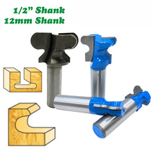 12MM Shank Finger-Router-Bits Milling Cutter Woodworking 1PC for Industrial-Grade 1/2-Double