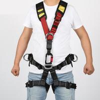 Volle Körper Sicherheit Klettern Baum Baumpfleger Harness Schulter Schlinge Gurtband-in Sicherheitsgurt aus Sicherheit und Schutz bei