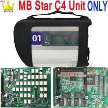 O sd da relação da estrela c4 do mb conecta o sistema compacto 4 do diagnóstico da estrela multiplexer para a ferramenta diagnóstica sd c4 de bens diag com wifi