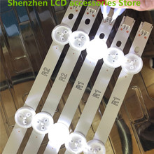 """10 pièces/lot utilisé partie originale 42 """"LED bande pour PANASONIC TX 42B6B 42"""" LED TV LC420DUE (SF) (R2) 6916L 1340A R1 + L1 = 824MM 100% nouveau"""