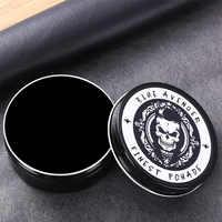 Schwarz Haar Pomade Öl Wachs Eco Gel Creme für Männer Haar Styling Starke Halten Lange Anhaltende Stereotypen Rand Control Barber produkte