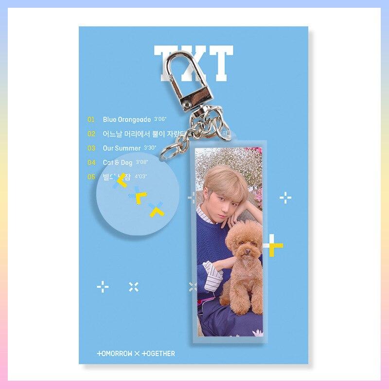 TXT The Dream Chapter Acrylic Key Chain Keyring Tomorrow X Together  Choisoo Choi YEON