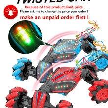 Xmas Stunt RC Car Toys Remote Control Car