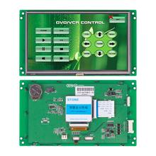 7 LCD Touchscreen with UART Port + Program Controller Support Any MCU for Industrial Control