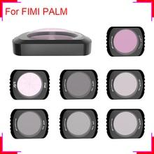 렌즈 필터 CPL for FIMI PALM 미니 공중 짐벌 카메라 안정기 ND4 ND8/16/32 PL 중립 밀도 Polar Accesoris Len Sets