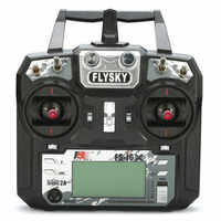 Flysky FS-i6X/FS-i6 émetteur 2.4GHz 10CH AFHDS 2A w/X6B iA6b i-bus A8S récepteur de FS-iA10B pour Drone RC Mode 1 Mode 2